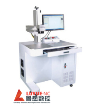 Fiber Laser Marking Machine With Rotary Attachment