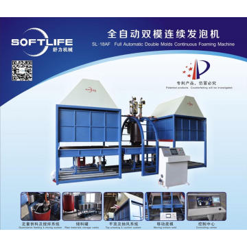 Auto Batch Box foaming machine for mattress