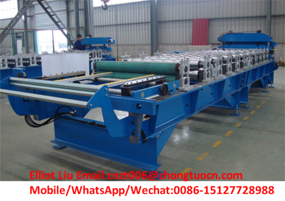 High-end roof tile roll forming machine 5