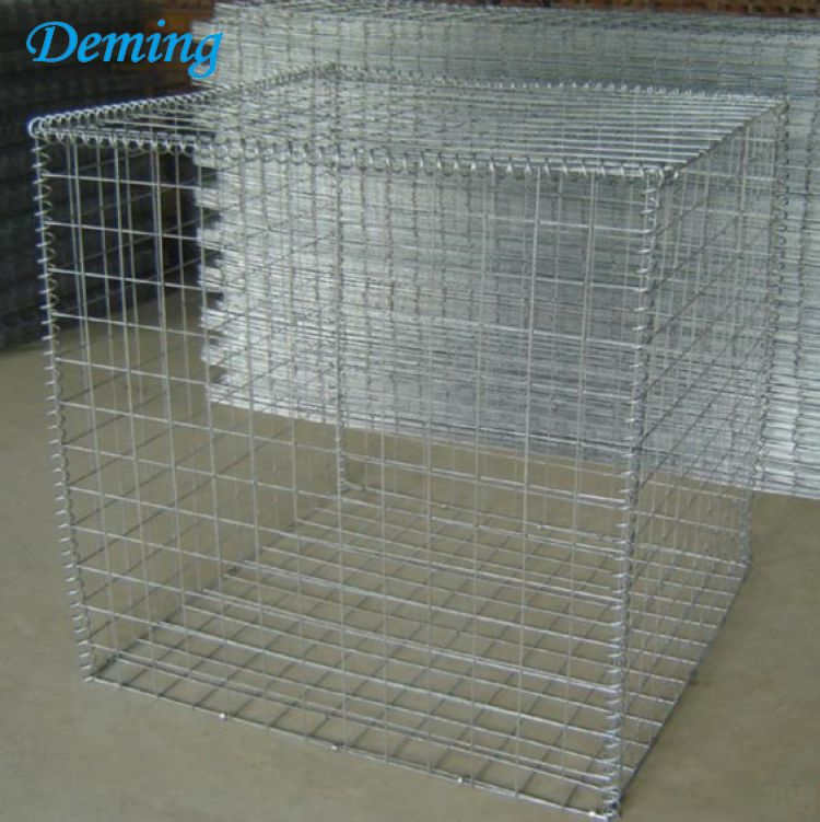 Rust Proof Retaining Wall  Stone Gabion Box