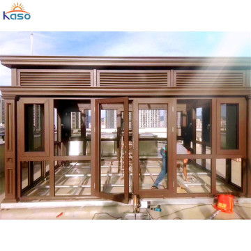 Aluminium Sunroom Outdoor Aluminum Glass Room For Garden