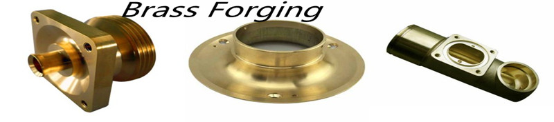 Brass aluminum forging parts