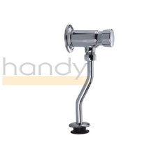 Delicate Polishing Hand Push Time Delay Flush Valve