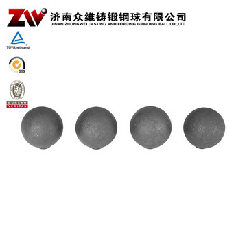 Forged Ball Mill Grinding Media For Cement 100mm
