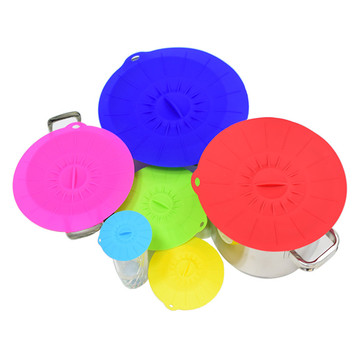 Keeping Food Fresh BPA Free Silicone Lid