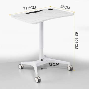 Movable bedside nurse desks