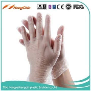 FDA Certified Food Grade Vinyl Disposable Gloves