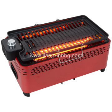 Electrical And Charcoal BBQ Grill