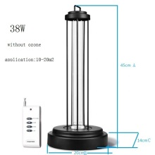 UVC germicidal lamp portable uv sterilizer for hotel