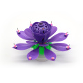 Flower Lotus Music Magic Birthday Candle -14 kaarsen