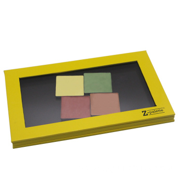 Customized paper palette makeup