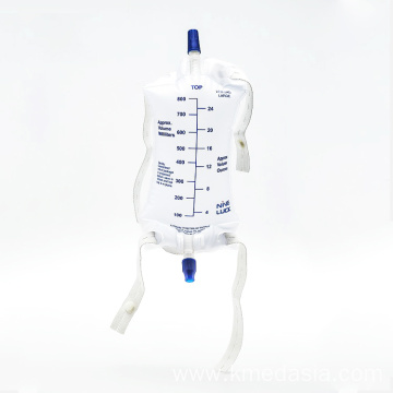 medical plastic standard urine bag for adult