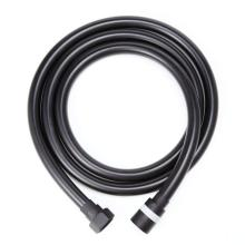 Bathroom accessories black pvc shower hose