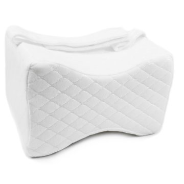 Memory Foam Inflatable Knee Pillow With Strap