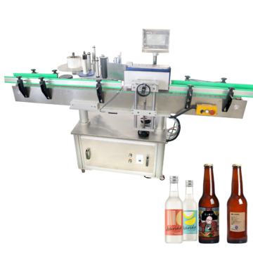 Automatic Plastic Round Bottle Labeling Machine