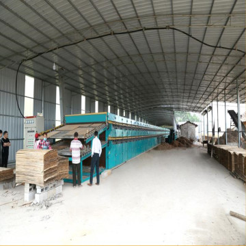 Roller Veneer Drying Machine-Specially For core veneer