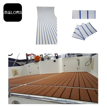 Melors Faux Teak Sheet Boat Decking Marine Material