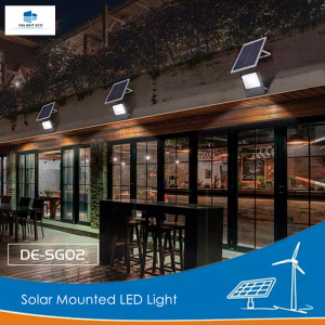DELIGHT DE-SG02 Solar Garden Mounted LED Light