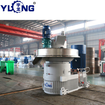 YULONG XGJ850 2.5-3.5T/H wood pellet making machine price