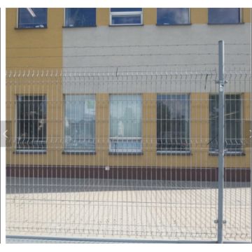 Stable Galvanized Gaeeison Mesh Fence