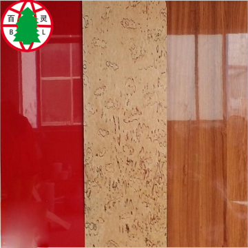 High gloss UV Board UV MDF
