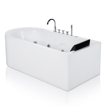 Luxury Acrylic Soaking SPA Whirlpool Bath