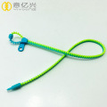 Custom environment friendly material zipper lanyard