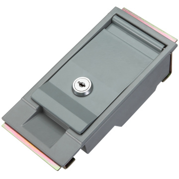 Grey Chrome-plating Aluminum Alloy Magnetic Door Latch