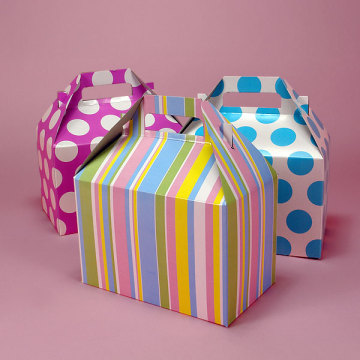 Custom Printed window paper Cake Wrappers