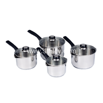 High Quality Cookware Pot With Glass Cover