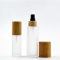 Empty bamboo cosmetic spray bottles 150ml 100ml