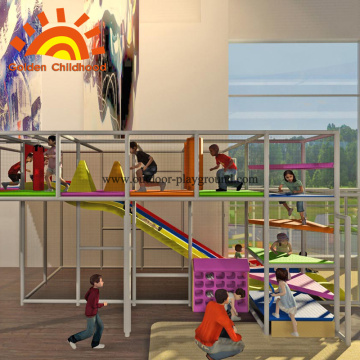 Environmental Kids Playground Structure Equipment