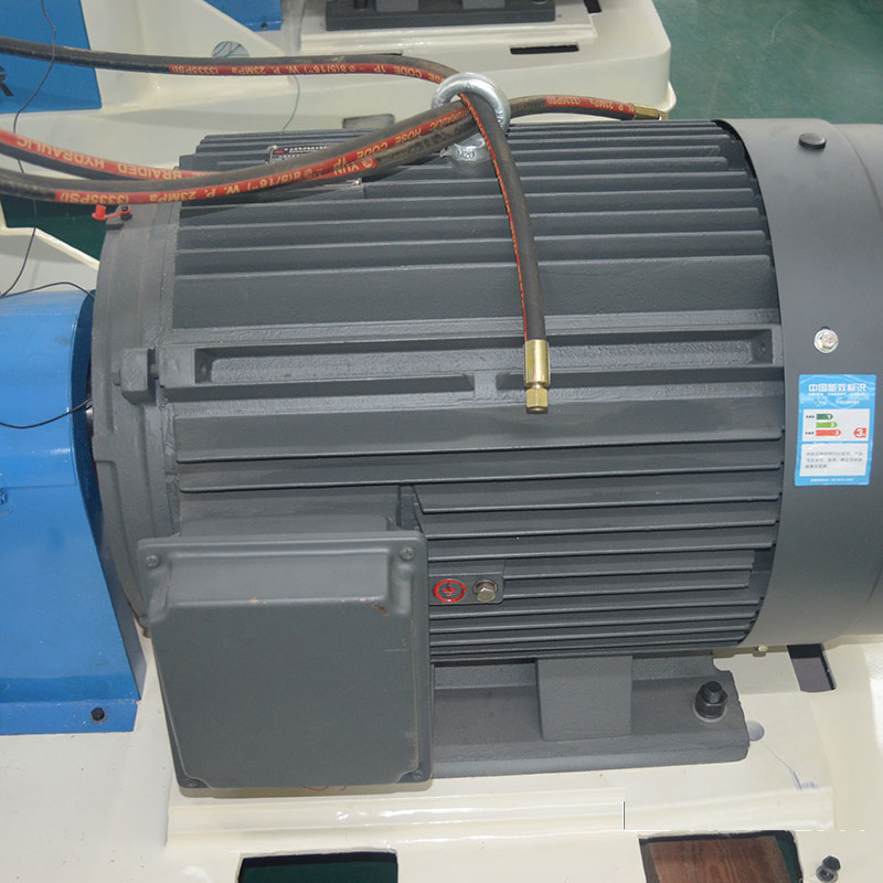Motor for wood chipper
