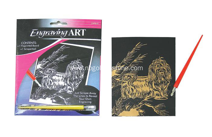 Engraving Scratch Art