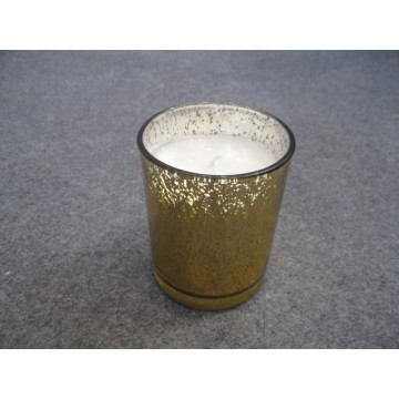 Flameless Scented Romantic Colored Glass Candle