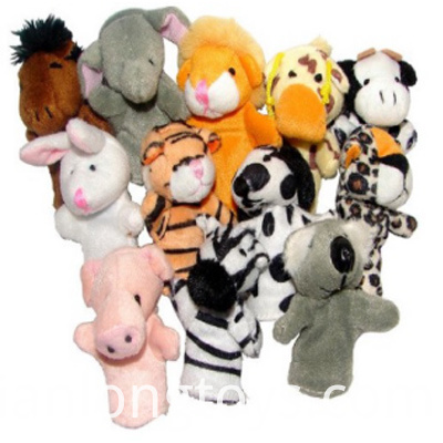 Various Kinds of Hand Puppet Toys