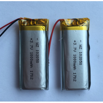 3.7v 1000mAh Lipo Battery For Small Speakers (LP2X5T10)