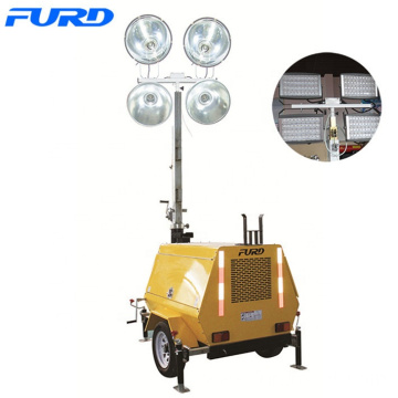 Outdoor Led Mobile Light Tower for Construction Lighting