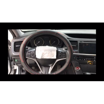 Car Embroidery Steering Wheel Cover