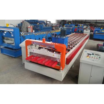 Trapezoidal Roof Sheet Metal Roof Forming Machine