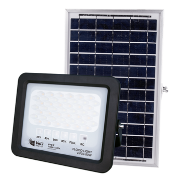 80W environmental protection solar flood light