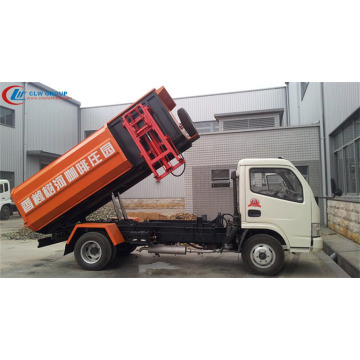 Brand New Dongfeng 5cbm refuse truck side loader