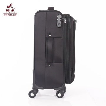 Polyester Trolley Luggage Suitcase With Universal Wheels