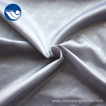 Polyester Twill Fabric Silk Suit Lining