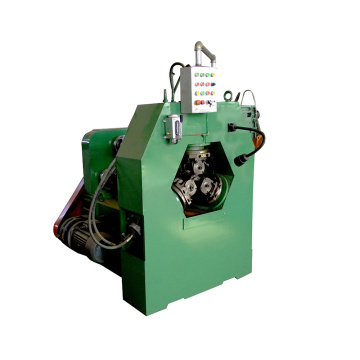 Rebar thread rolling screw making machine