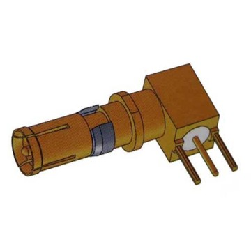 Signal D-SUB Coaxial Contact Right Angle Female 75Ω