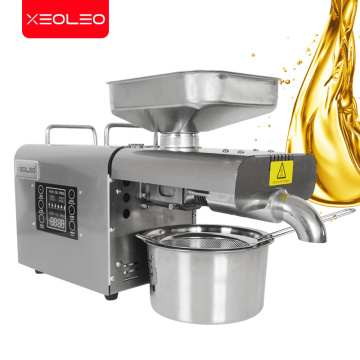 XEOLEO Oil press machine Walnut Oil expeller Press Peanut machine Sunflower/Flaxseed/Walnut Oil presser Stainless steel 110/220V