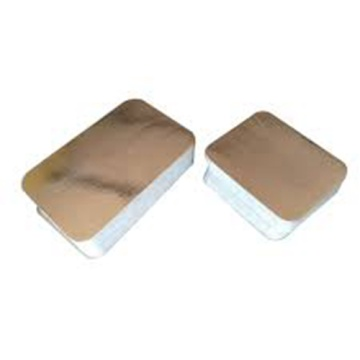 Aluminum Foil Container Paper Lid Take Away Board