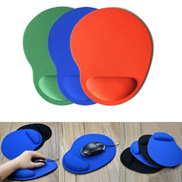 Mouse Pad With Wrist Protect For Computer Laptop Notebook Keyboard Mouse Mat Ergonomic Comfort Wristband Protection Dropshipping