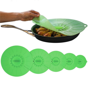 Reusable BPA free Silicone Fresh Suction Cover